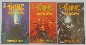 The Thing From Another World Climate of Fear 1 2 4 Dark Horse Comics Lot 1992