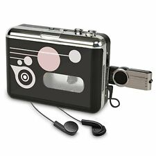 Cassette Player , Portable Converter Recorder Convert Tapes to Digital MP3