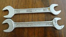"""One (1) Gedore #12 19/32"""" 11/16"""" Open End Wrench Made in India (2 Available)"""