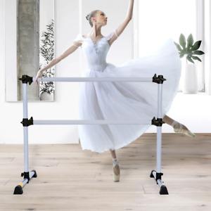 Barre De Danse Classique Ballet Barre De Danse Double Mobile Hauteur Réglable 1