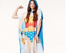 DC COMICS ORIGINALS WONDER WOMAN SUPER HERO HOODED PONCHO COSTUME NWT NEW