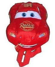 Disney Cars  Lightning Mcqueen Plush Backpack