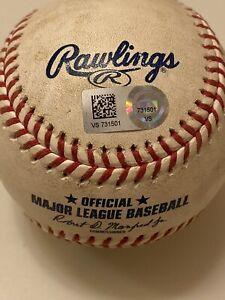 MLB Authenticated-Omar Narvaez FO to Shogo Akiyama-Pickoff Try-Overturned Call