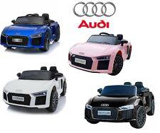 12v Audi R8 Spyder Kids Electric Battery Ride on Car Parental Remote Control
