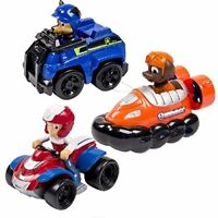 NEW Nickelodeon Paw Patrol  Rescue Racers 3pk Vehicle Set Chase Zuma Ryder