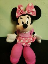 """2003 Disney/Northwest Minnie Mouse- Pinks &Polka Dots ,Pink Shoes 16"""" Plush"""