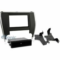 Metra 99-8249 Single/Double DIN Install Dash Kit for 2015-Up Toyota Camry