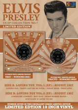 "ELVIS PRESLEY US EP COLLECTION 7 10"" White ltd edition RARE Collectable Pressing"