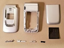 New Nokia Oem Full Housing Lens Back Cover Buttons Frame for 6085 6086 - Silver