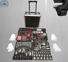 949 Pièces Outils Usine Coffre à Boîte A Caisse à avec Roulettes Set