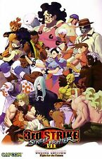 Street Fighter - Classic - 3 rd Strike -High Quality Poster ( 34 in x 22 in )