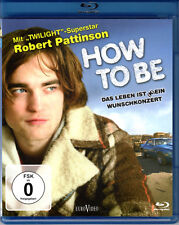 How to be , Blu_Ray Region B/2 , new & sealed , Robert Pattison