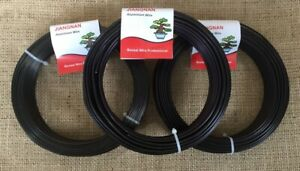 X3 Rolls Of 500g Aluminium Bonsai Wire (ALL SIZES AVAILABLE)