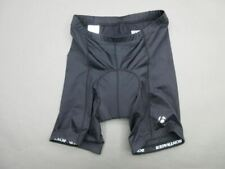 BONTRAGER SIZE M MENS BLACK ATHLETIC NYLON PADDED BIKE CYCLING SHORTS 151