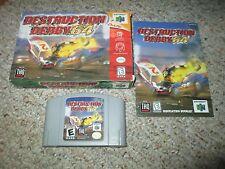Destruction Derby 64 (Nintendo 64 n64, 1999) Complete in Box GREAT