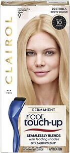 Clairol Root Touch Up Permanent Hair Dye 9 Light Blonde