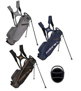 Cobra Mens Ultralight Sunday Golf Bag - New 2021 - Quiet Shade
