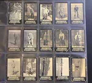 1902 Odgens Cigarrete Golf Cards X15