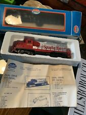 Model Power Santa Fe GP9 Diesel Locomotive in Original Box