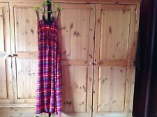 Maxi summer dress with necklace detail size  medium