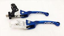 Asv Indistruttibile F3 Blu Confezione Pieghevole Frizione + Leve Freno Suzuki