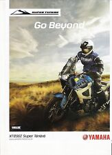 Yamaha XT1200Z Super Tenere period motorcycle advert  2011