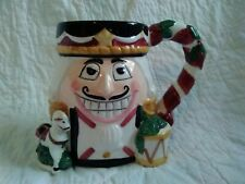 Adorable Toy Soldier Nutcracker Christmas Mug ~ New In Box ~ Great gift idea!