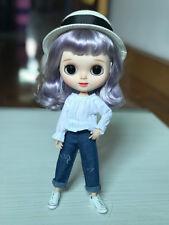 1PCS Blythe chemise blanche azone chemise blanche poupée tenue Fit Blythe azone pullip