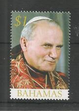 bahamas ca 2005 pape papale pope papa Papst john paul 1v mnh **