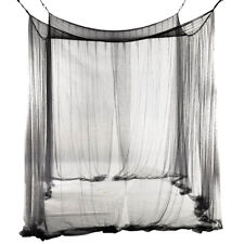 4-Corner Bed Netting Canopy Mosquito Net for Queen M7H4