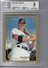 1999 topps traded #T66 JOSH HAMILTON rookie RC BGS 9 Mint
