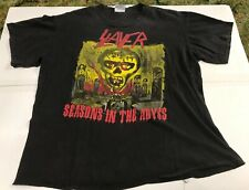 Slayer Seasons In The Abyss / A Week In The Abyss Shirt Rare Vintage Brockum