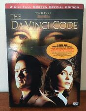 The DaVinci Code (DVD, 2-Disc Set, Special Edition, Full Frame Edition)BRAND NEW
