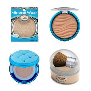 Physicians Formula Mineral Wear Talc-Free Powder, Bronzer (Choose 1) - READ!