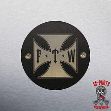 Point Cover,Zündungsdeckel für Harley Davidson,Sportster,Big Twin, 2 Loch