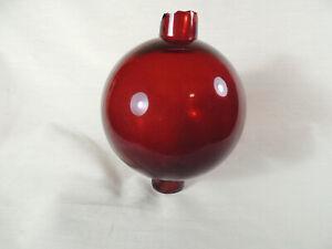 Unembossed Red SLR Lightning Rod Ball