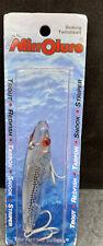 """Mirrolure LS10MR S Sinking Twitchbait Red Eye Brand New 3/8 oz 3"""" Silver"""