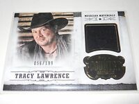 2014 Panini Country Music TRACY LAWRENCE RELIC SWATCH Trading Card #M-TL 056/199