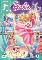Barbie - The Twelve Dancing Princesas Nuevo DVD Región 2,4