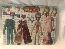 Tim Burton Mars Attacks Dress Up Magnetic Set New In package 1996
