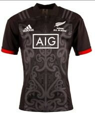 BNWT New Zealand MAORI ALL BLACKS 2018 S/S rugby jersey shirt size XL