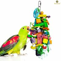 SunGrow Bird Chewing Toy : For parrots, 100% Natural, Non-Toxic, Pets play