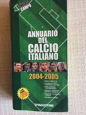 ANNUARIO ALMANACCO DEL CALCIO ITALIANO 2004/05 CONTRO CAMPO 1040 PAGINE !!!!!!!