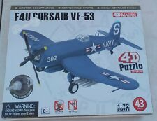 1/72 F4U Corsair 4D Puzzle Model Airplane by 4D Master