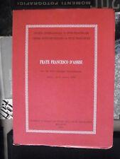 FRATE FRANCESCO D'ASSISI, centro italiano di studi sull'alto medioevo 1994