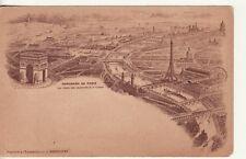 FRANCE -- Panorama of Paris, FECAMP, Benedictine Campanile, postcard