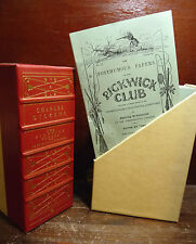CHARLES DICKENS : PICKWICK CLUB POSTHUMOUS PAPERS  19 vols. LONDON  Rarità