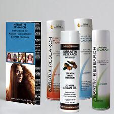 KR Complete brazilian Blowout KERATIN hair treatment SET 300ml made USA