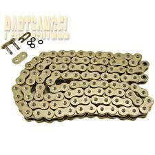 520 Gold O-Ring Chain 116 Links 2008 2009 Hyosung GV250 1996 Polaris 425 Magnum
