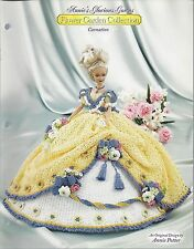 ANNIE'S GLORIOUS GOWNS ~ FLOWER GARDEN COLLECTION - CARNATION crochet